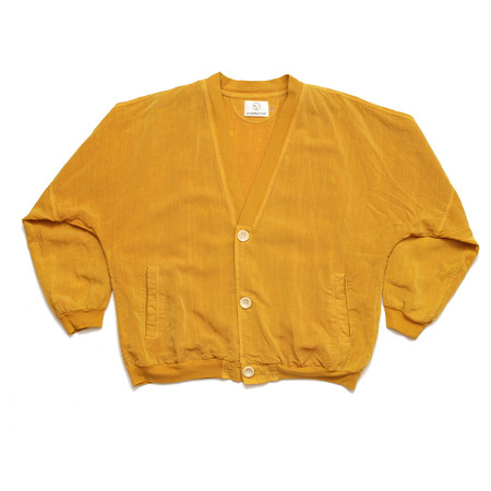 Unisex Olderbrother OB Cardigan - Turmeric