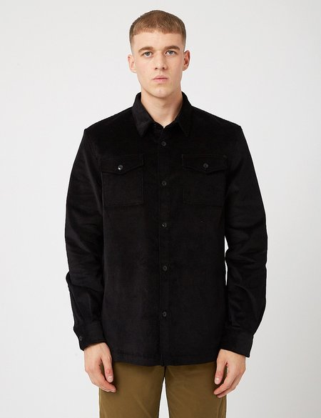 Barbour Cord Overshirt - Black