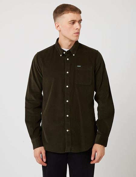 Barbour Ramsey Tailored Shirt - Forest Green