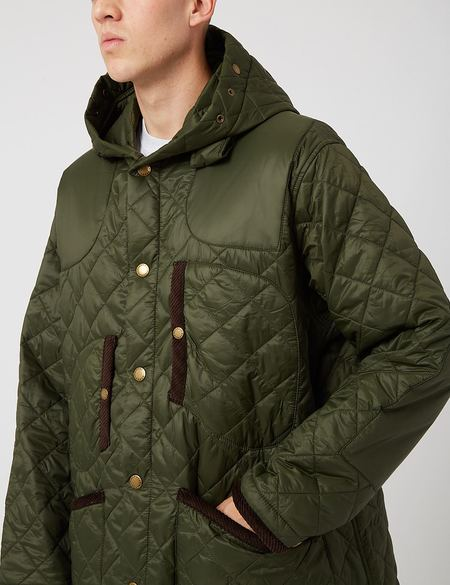 Barbour x Engineered Garments Jankees Quilted Jacket - Olive Green