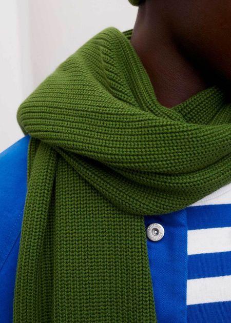 Unisex Kowtow Fisherman scarf - grass