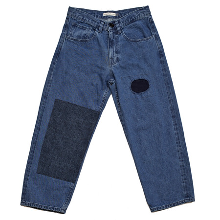 Olderbrother Patched Denim Five Pocket - Denim