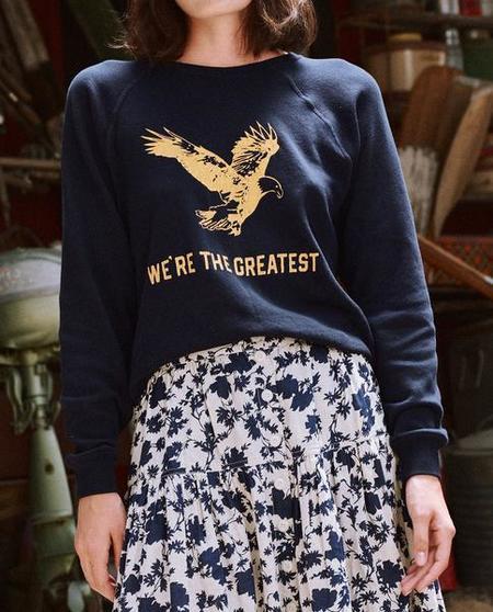 The Great. The Shrunken Sweatshirt w/ Eagle