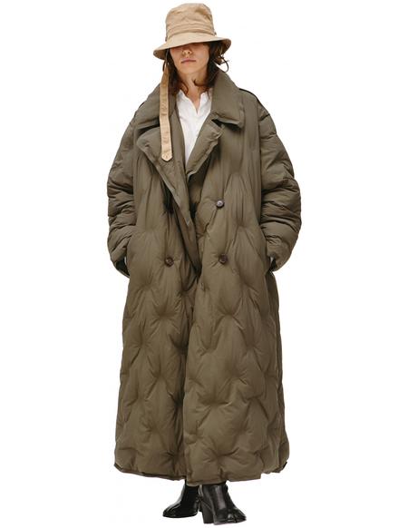 Maison Margiela Glam Slam Quilted overcoat