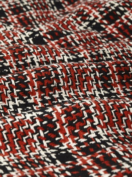 Wax London Whiting Lumberjack Overshirt - Black/Red