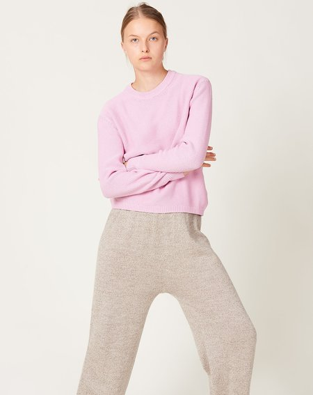 unisex Kowtow Escape Crew sweater - pastel Pink