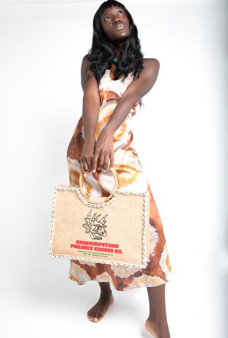 Serendipitous Project Coffee Handbag - natural