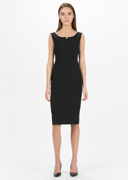 Antonelli Napoli Fitted Sleeveless Dress