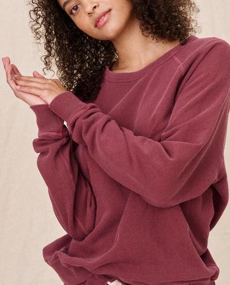 The Great. The College Sweatshirt - Rosehip