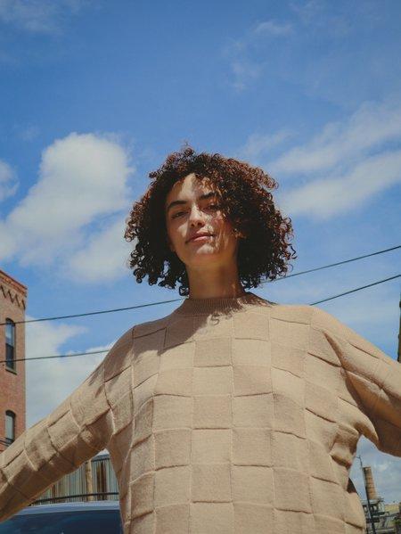 Marvin Ruby Georgie Sweater - Mist