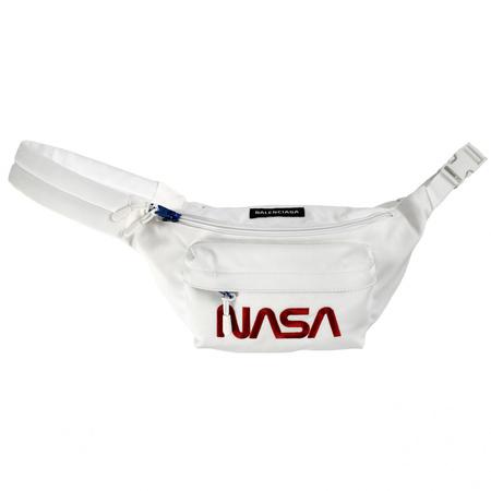Balenciaga Space Beltpack Bag - NASA/White