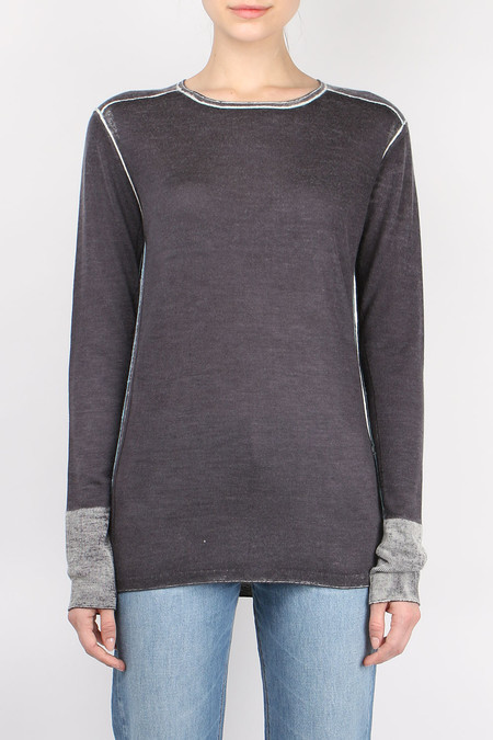 Paychi Guh Long Sleeve Crew Sweater