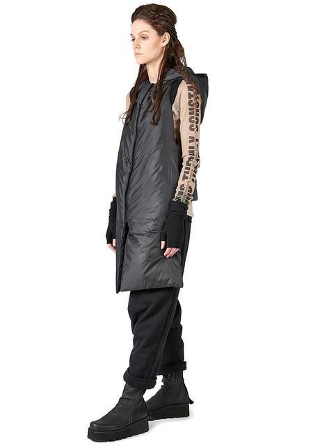Studio B3 Brinny Puffer Vest - Black