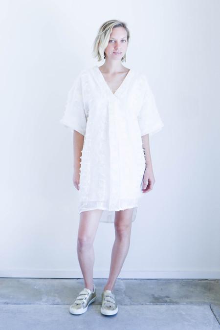 7155 By Szeki V-Neck Fringe Dress