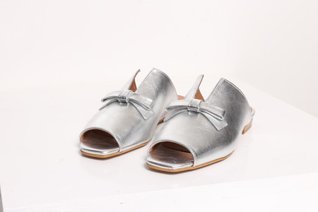 Intentionally Blank PALACE Silver Leather