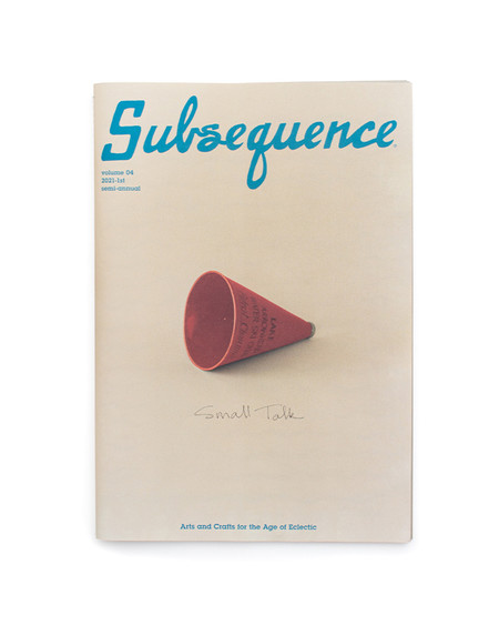 Subsequence Magazine - Vol. 4 Sept 2021