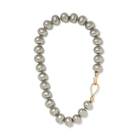 CC & CO by Catherine Canino Pebbles Necklace - Silver/Gold