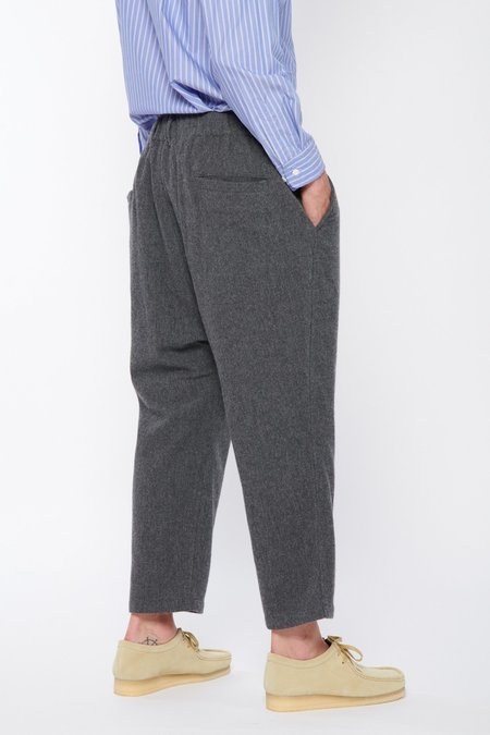 Sage de Cret 9/10 Length Sarouel Pants - Gray