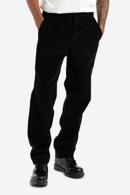 Schnayderman's Tailored Cord Trousers - Black