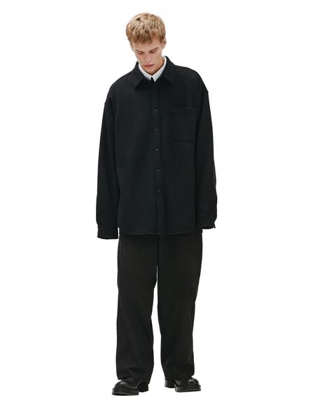 Balenciaga oversized shirt - Black