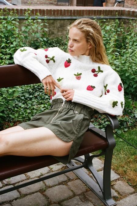 Sea NY SEA Fruit Sweater - Cream