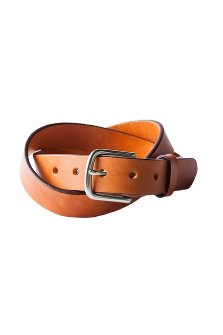 Tanner Goods Classic Belt - Saddle Tan/Stainless