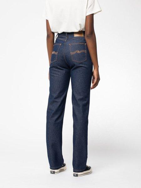 Nudie Jeans Lofty Lo Jeans - Dry Blues