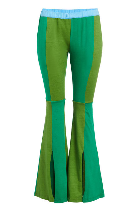 Abacaxi Patchwork Flare Leggings