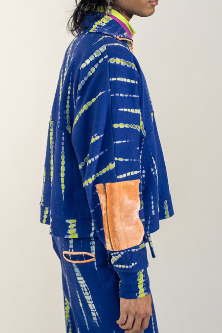 Abacaxi Tie-Dye Half-Zip Pullover