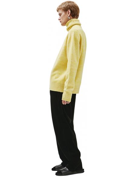 OAMC Logo Wool Sweater - Yellow