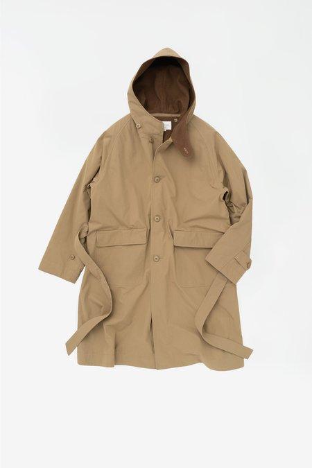 Still By Hand Hooded coat - beige