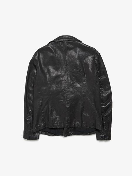 Rick Owens Leather Blazer Jacket