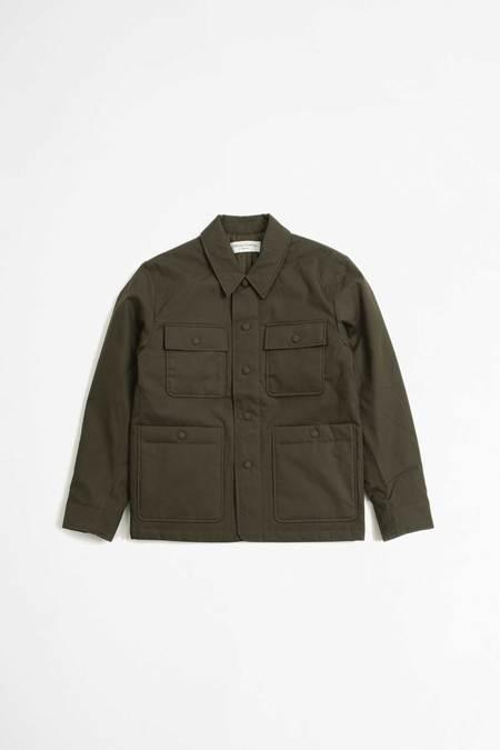 Officine Generale Omar jacket - olive
