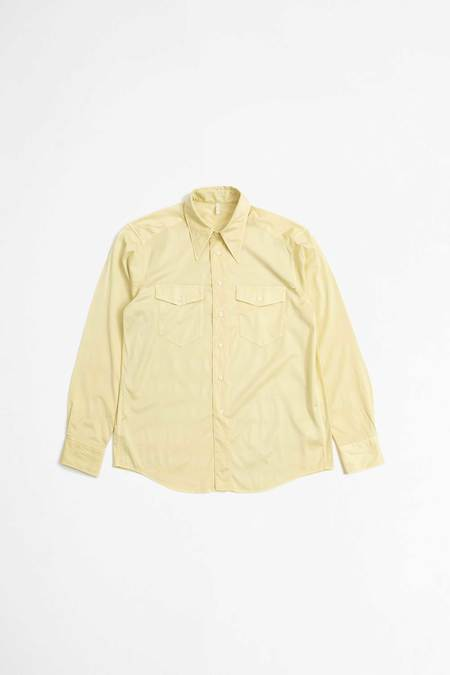 Sunflower Wayne shirt - light yellow