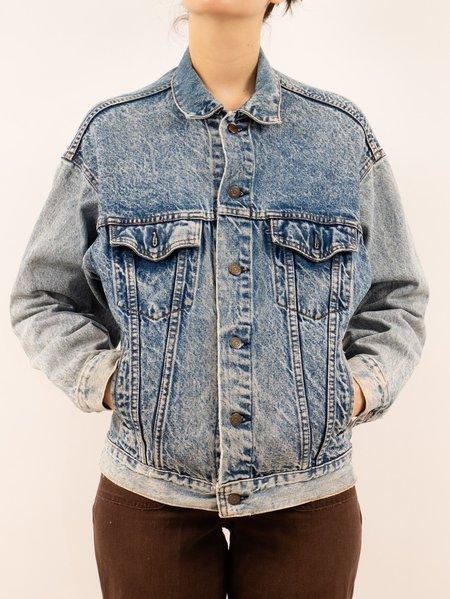 Vintage 1980's Levi's Acid Wash Denim Jacket