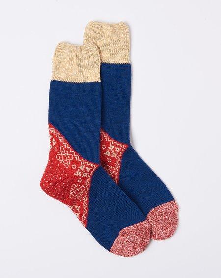 Kapital 96 Yarns Bandana Socks - Red