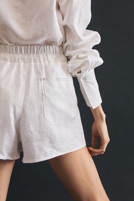 Wellington Factory Millie Shorts - White