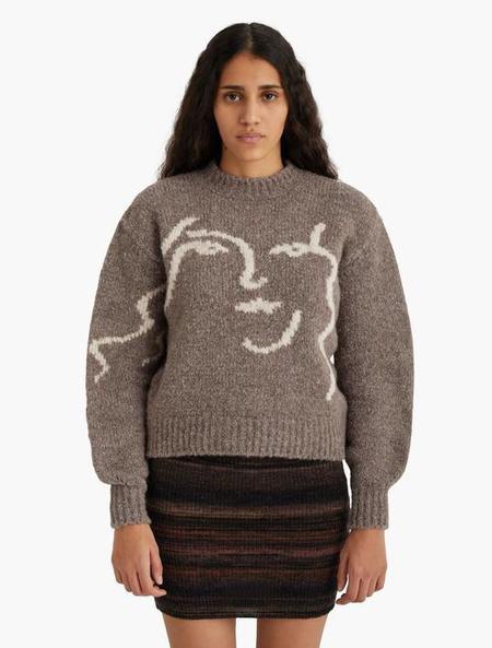 Unisex Paloma Wool Anita Sweater - Taupe