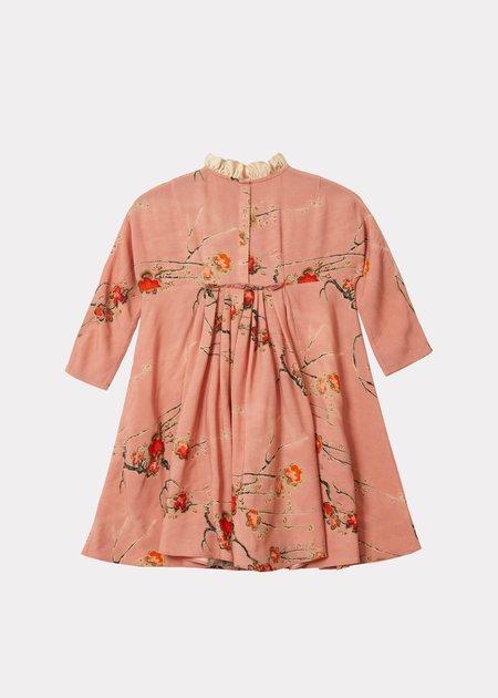 Kids Caramel Edmee Dress - Orchid Print