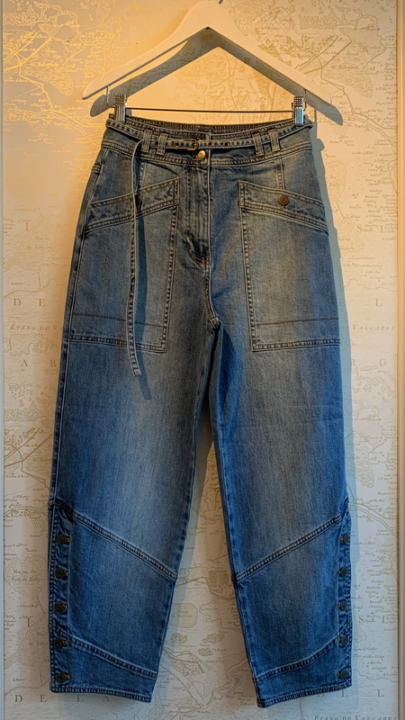Ulla Johnson Harris High-Waisted Jeans - Blue