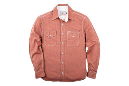 Freenote Cloth Lambert Shirt - Faded Red