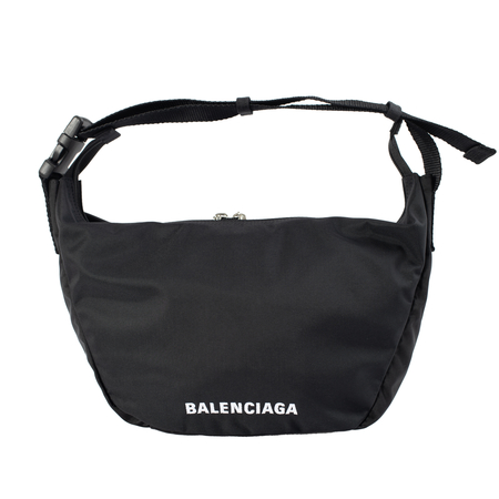 Balenciaga Wheel S Sling Bag in black