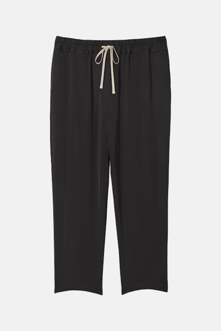 Women's Nili Lotan Safi Pants in Jet Black, Size XS