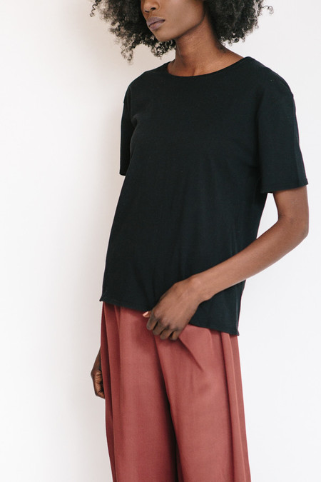 Kowtow Building Block Crew Neck Tee - Black