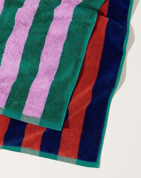 Dusen Dusen Bath Towel - Topaz Stripe