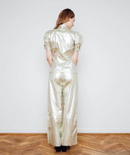 Gudrun&Gudrun cotton Disco Pants - GREEN
