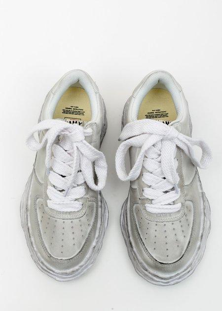 Mihara Yasuhiro Original Distressed Effect Sole Leather Sneaker - White