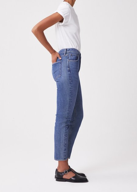 Vintage AGOLDE Riley High Rise Straight Crop pant - Transfer
