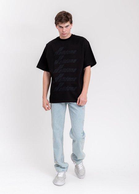 WE11DONE Front Logo T-Shirt - Black