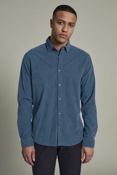 MATINIQUE Trostol Corduroy Shirt - Dust Blue